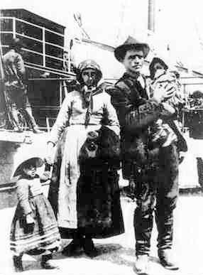 Famiglia di immigranti italiani in Brasile, 1900 circa