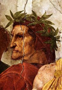 Raffaello Sanzio, Ritratto di Dante