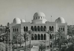 Saul Meraviglia Mantegazza, Palazzo del Governatore a Tripoli (1924-31)