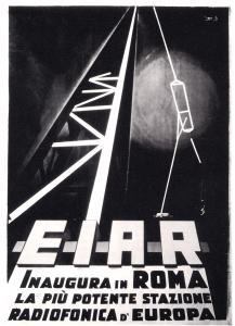 Manifesto promozionale dell'EIAR