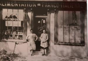 Negozio di alimentari a Parigi, 1930