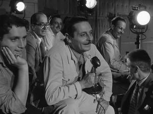 """Blasetti in """"Bellissima"""" (1951) di L. Visconti. Fonte: Wikipedia"""
