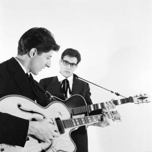 Giorgio Gaber ed Enzo Jannacci nel 1960. Foto di Gianni Greguoli Venini. Per gen