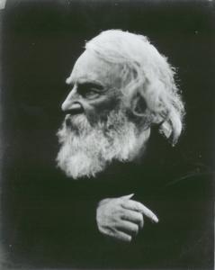 Julia Margaret Cameron (1815-1879), Henry Ritratto di Wadsworth Longfellow