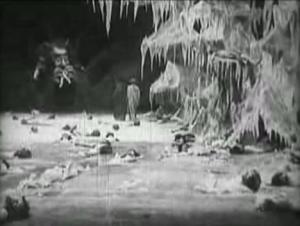 """Fotogramma del film """"L'Inferno"""" (1911). Fonte Wikimedia Commons"""