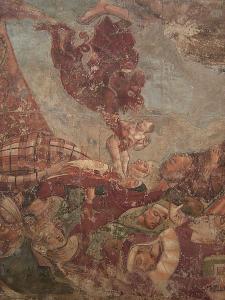 """B. Buffalmacco, """"Trionfo della morte"""", dettaglio, 1355. Fonte: Wikimedia Commons"""