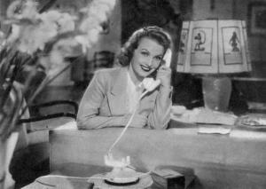 """Assia Noris in """"La casa del peccato"""" (1938)"""