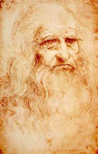 "Leonardo da Vinci, ""Autoritratto"", 1513 circa, Biblioteca Reale, Torino"