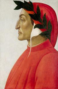 """Sandro Botticelli (scuola), """"Ritratto di Dante Alighieri"""""""