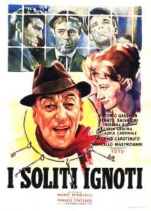 """Locandina del film """"I soliti ignoti"""". Fonte: Wikipedia"""