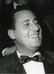 Alberto Sordi. Foto Bernardi, Venezia, 1961. Fonte: ASAC-La Biennale di Venezia