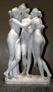 """Antonio Canova, """"Le Grazie"""", 1816. Fonte: INDIRE-DIA. Ente fornitore: Olycom spa"""