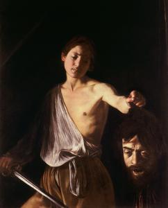 Caravaggio, David con la testa di Golia, c. 1609-1610, Roma, Galleria Borghese