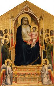 Giotto, Madonna di Ognissanti, 1303-1305 circa, Firenze, Galleria degli Uffizi