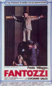 """Locandina del film """"Fantozzi"""" (1975) diretto da L. Salce. Fonte: Mymovies.it"""