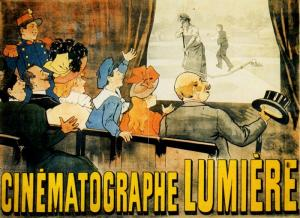 Manifesto del Cinématographe Lumière. Fonte: INDIRE-DIA, Olycom spa