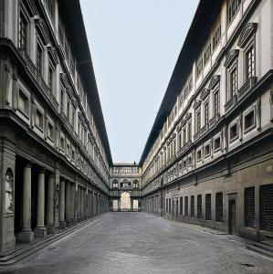 Giorgio Vasari, Palazzo degli Uffizi, dal 1560, Firenze