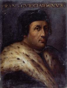 Ritratto di Francesco Guicciardini - Anonimo toscano sec. XVI