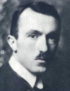 Gadda in una fotografia del 1921. Fonte: Wikimedia Commons