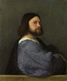 Tiziano Vecellio, Ritratto di Ariosto (presunto), 1510. Fonte: Wikimedia Commons