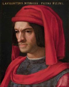 Bronzino, Ritratto di Lorenzo Il Magnifico. Fonte: Wikimedia Commons