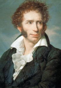 Ritratto di Ugo Foscolo (1813) di François-Xavier Fabre. Fonte: INDIRE-DIA