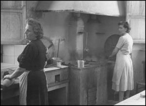 Massaie toscane negli anni '50. Fonte: CGIL Regionale Toscana