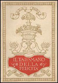 """Copertina del volume """"Talismano della felicità"""""""