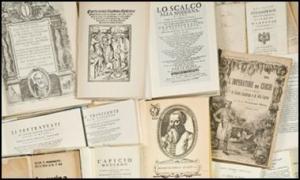 Alcuni libri della Biblioteca Gastronomica di Academia Barilla. Fonte www.academ