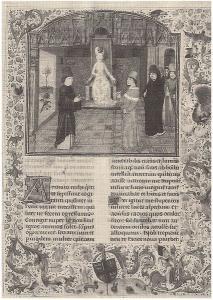 """Il """"Secretum"""" di Petrarca in un'edizione del 1470"""