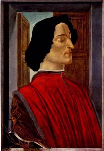 S. Botticelli, Ritratto di Giuliano de' Medici. Fonte: Wikimedia Commons