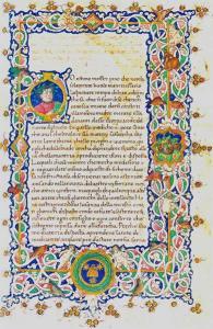 """Boccaccio, """"Consolatoria a Pino de' Rossi"""". Fonte: Internet Culturale"""