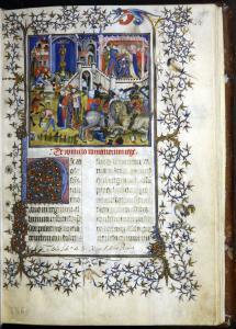 "Petrarca, ""De viris illustribus"". Fonte: Universitat de València"