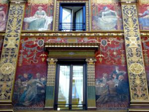 """Giuseppe Cellini, Galleria Sciarra, Roma, 1885-1888. Foto di Luciano """"Zingaro"""""""