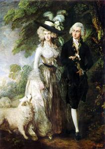 Thomas Gainsborough, Mr and Mrs William Hallett ('The Morning Walk'), 1785