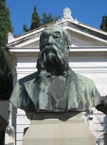 Monumento funebre di Pellegrino Artusi, ad opera di Italo Vagnetti, 1916