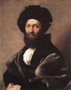 Raffaello Sanzio, Ritratto di Baldassarre Castiglione, 1514-15, Louvre