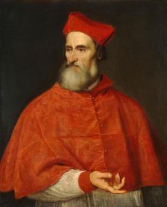 """Tiziano Vecellio, """"Ritratto di Pietro Bembo"""", 1539. Fonte: Wikimedia Commons"""