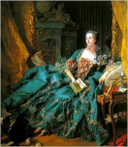 François Boucher, ritratto di Madame de Pompadour, 1756, Monaco, Alte Pinakothek