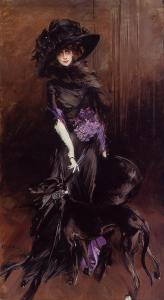 """Giovanni Boldini, """"La marchesa Luisa Casati"""", 1908"""