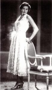 "Ingrid Bergman in abito Gattinoni nel film ""Europa '51"". Fonte: Vanity Fair"