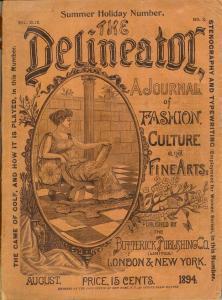 """Copertina della rivista """"The Delineator"""", Butterick Publishing Co., 1894"""