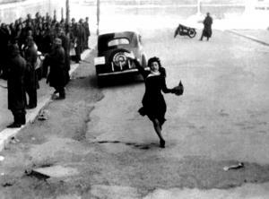 "Anna Magnani in ""Roma città aperta"" (1945). Fonte: INDIRE, Olycom spa"