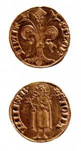 Fiorino d'oro,1252-1303, Museo Nazionale del Bargello, Firenze