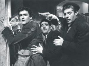 """Fotogramma del film """"I soliti ignoti"""" (1958) di Monicelli"""