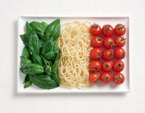 Italian Food Flag. Foto: Natalie Boog. Copyright: WHYBIN/TBWA Group Sidney