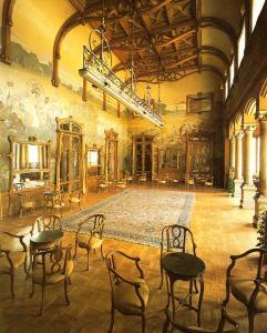 Particolari della Sala Basile di Villa Igiea, Palermo. Fonte: thule-italia.com