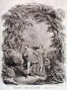 Orfeo ed Euridice, illustrazione (Parigi, 1964)