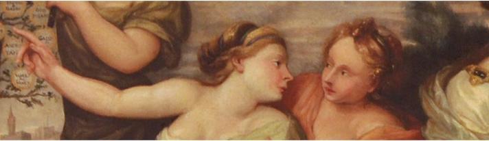 Dipinto su tela di Pier Dandini (secc. XVII-XVIII), particolare