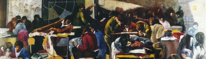 """Cesare Filippi, La scuola. (Liceo Scientifico """"Albert Einstein"""" di Rimini)"""